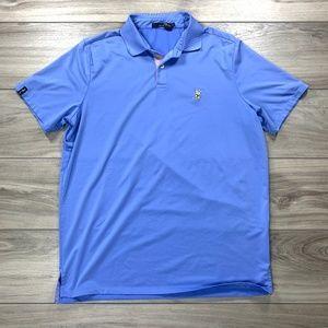 RLX Ralph Lauren Winged Foot Logo Golf Polo
